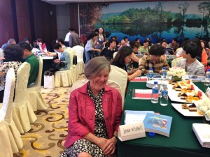 JSM Waiting to speak to parents, Ningbo, Zhejiang province